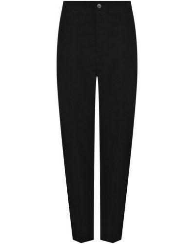 Укороченные брюки черные желтый Golden Goose Deluxe Brand