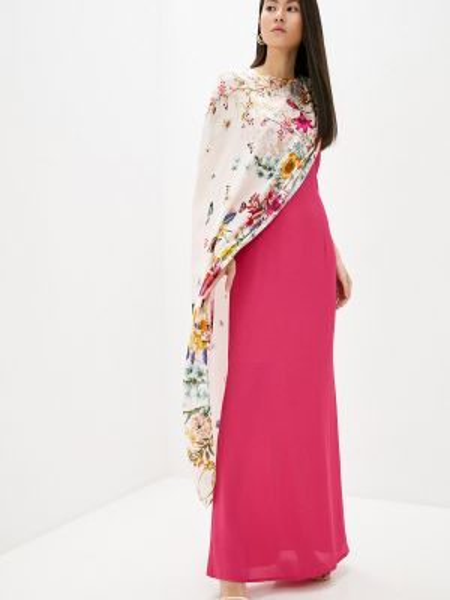 Вечернее платье розовое весеннее Cavalli Class