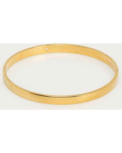 Żółta złota bransoletka Kate Spade