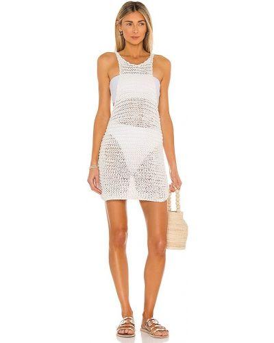 Облегающее вечернее платье - белое Mikoh