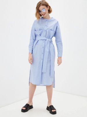 Платье - голубое Katya Erokhina