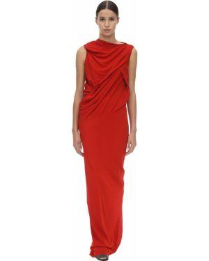 Платье кокон шелковое Rick Owens