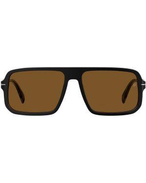 Солнцезащитные очки в клетку квадратные Db Eyewear By David Beckham