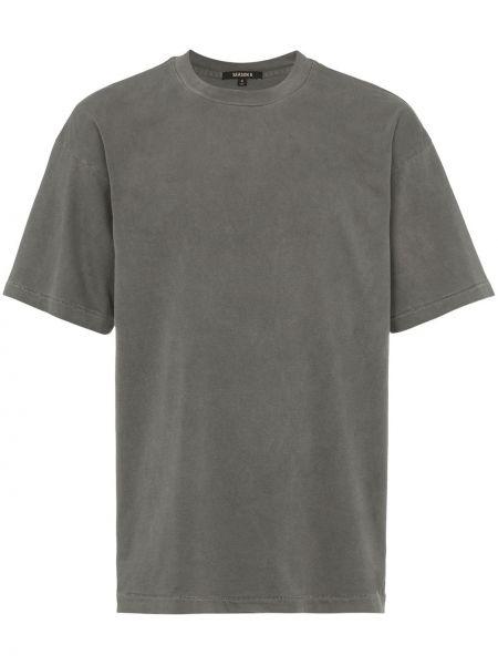 Klasyczna klasyczna koszula krótki rękaw bawełniana Yeezy