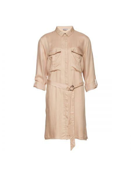 Платье мини с длинными рукавами прямое B.young