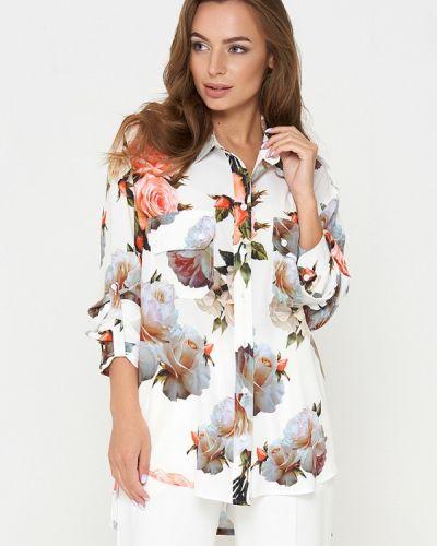 Блузка белая весенний Sellin