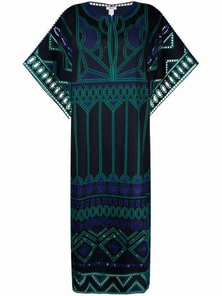 Niebieska sukienka długa bawełniana Eres