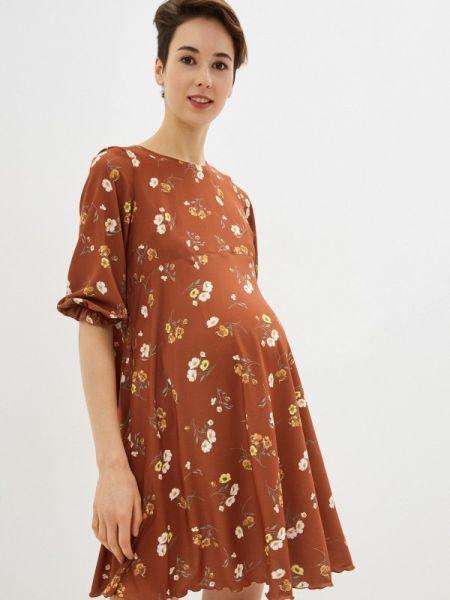 Платье - коричневое 9месяцев 9дней