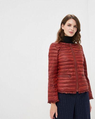 Утепленная куртка демисезонная осенняя Sisley