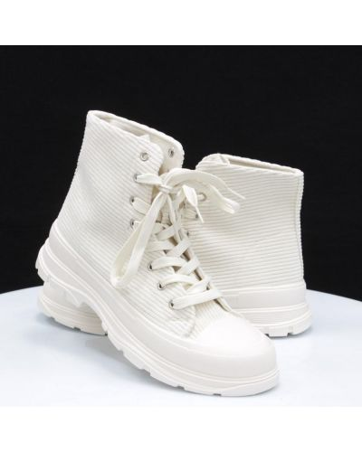 Ботинки на платформе - бежевые Horoso