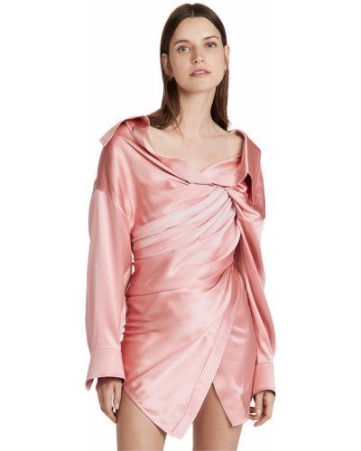 Sukienka tiulowa - różowa Alexander Wang