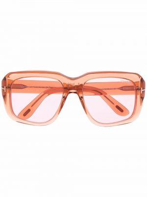 Okulary - pomarańczowe Tom Ford Eyewear
