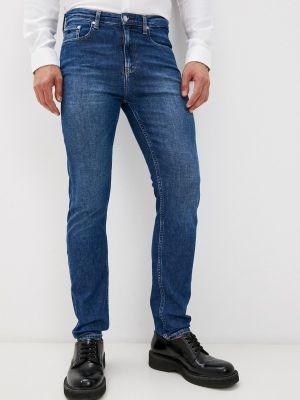 Синие джинсы осенние Calvin Klein