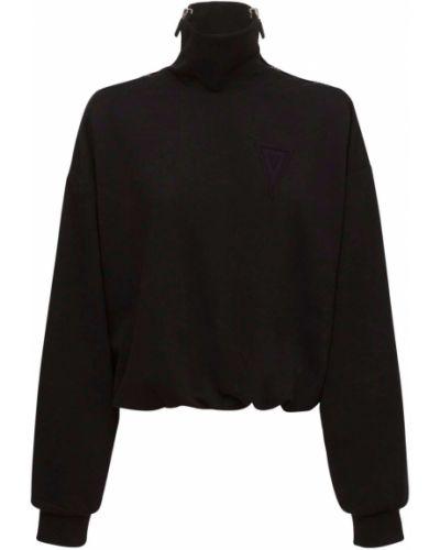 Czarna bluza bawełniana No Ka'oi