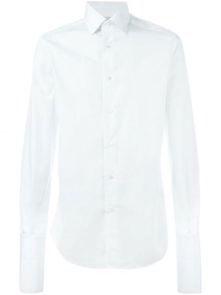 Хлопковая белая рубашка Fashion Clinic Timeless