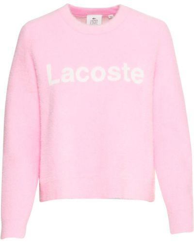 Pulower - różowy Lacoste