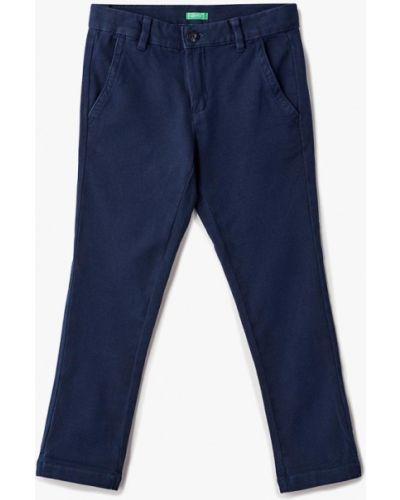 Синие брюки чиносы United Colors Of Benetton