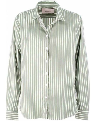 Zielona koszula Bagutta