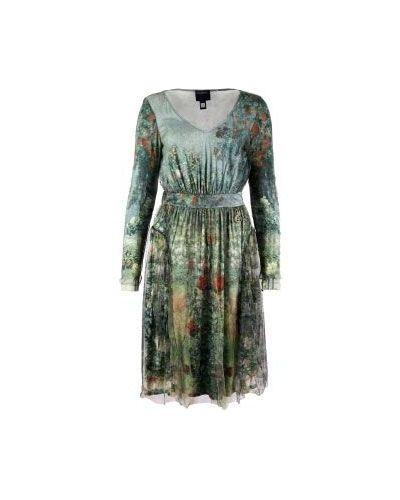 Зеленое вечернее платье Class Cavalli
