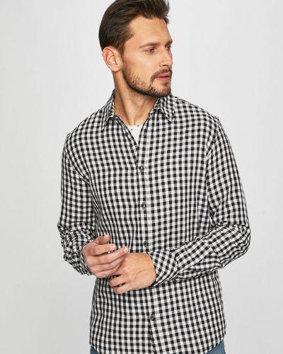 Рубашка с длинным рукавом в клетку хлопковая Medicine