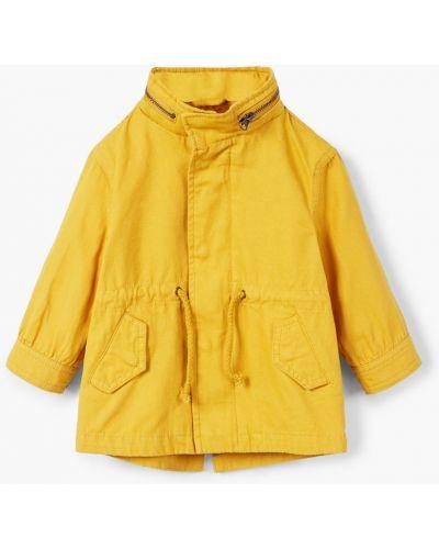 Куртка теплая декоративный Mango Kids