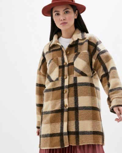 Бежевое пальто Haily's