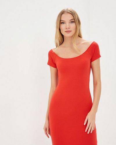 Красное платье весеннее Jennyfer