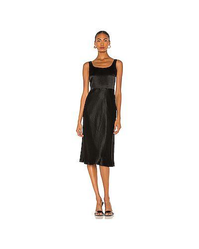 Черное платье с подкладкой на молнии Vince.