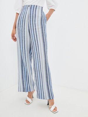 Голубые весенние брюки элис