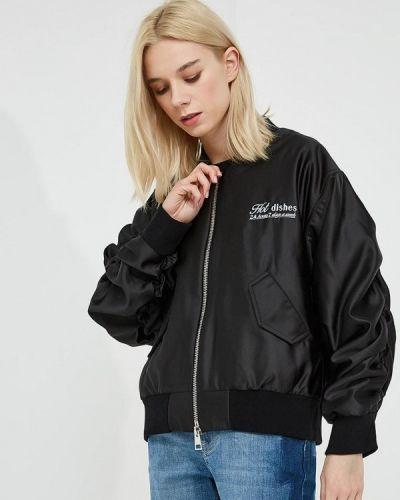 Куртка весенняя черная Chiara Ferragni Collection