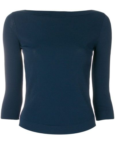 Синий свитер Roberto Collina