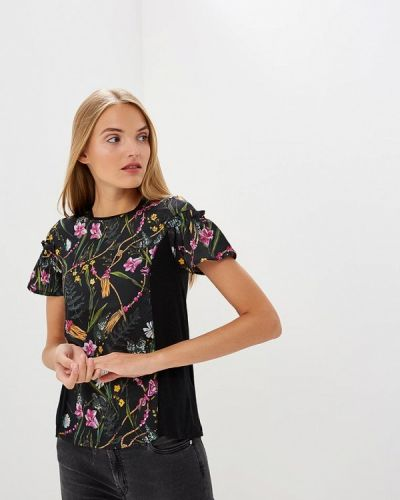 Черная футболка 2019 Blugirl Folies