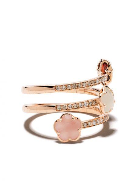 Pierścień ze złota z diamentem Pasquale Bruni