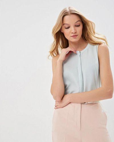 Блузка без рукавов бирюзовая весенний Sela