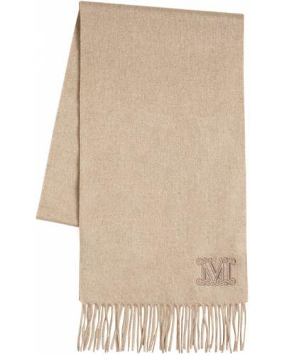 Кашемировый шарф с бахромой Max Mara