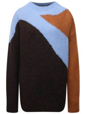 Шерстяной свитер Dries Van Noten