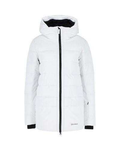 Белая куртка утепленная Glissade