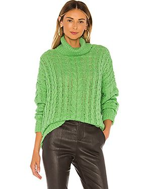 Зеленый акриловый свитер J.o.a.