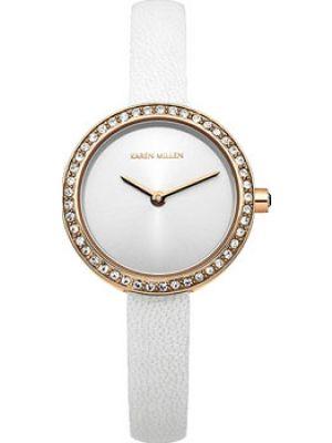 Кожаные часы Karen Millen