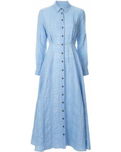 Платье на пуговицах классическое Mara Hoffman