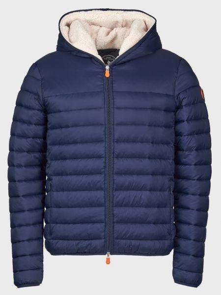 Куртка на молнии - синяя Save The Duck