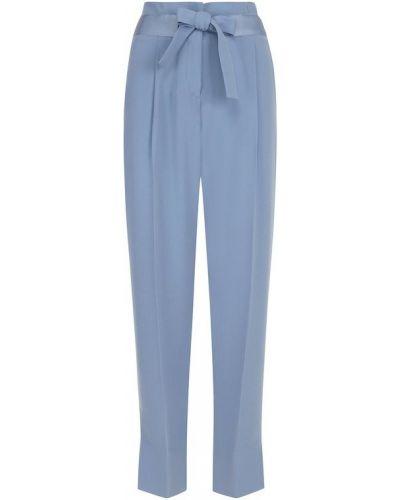 Укороченные однотонные брюки со стрелками и поясом Windsor