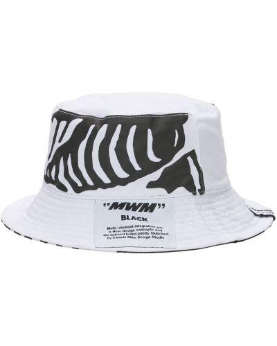 Biały kapelusz Mwm - Mod Wave Movement