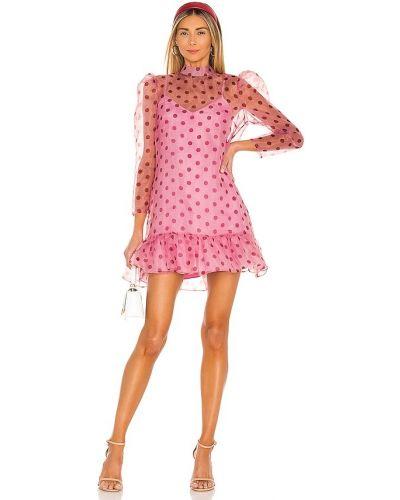 Розовое платье с подкладкой из органзы Likely
