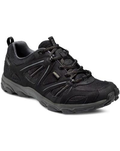 Черные кроссовки мембранные Ecco