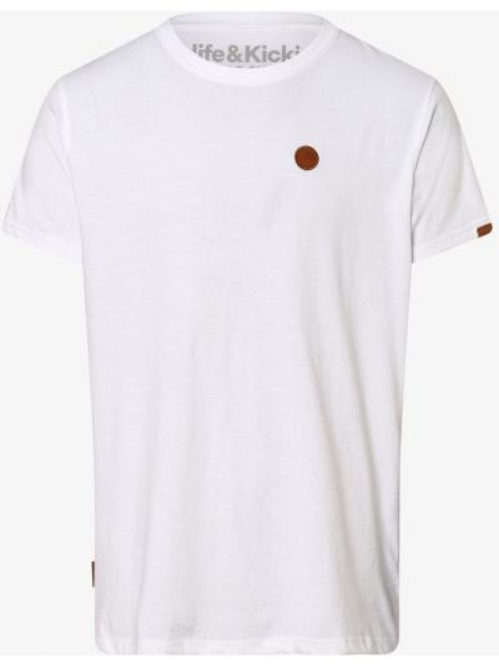 T-shirt - biała Alife And Kickin