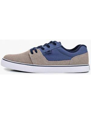 Низкие кеды замшевые демисезонный Dc Shoes