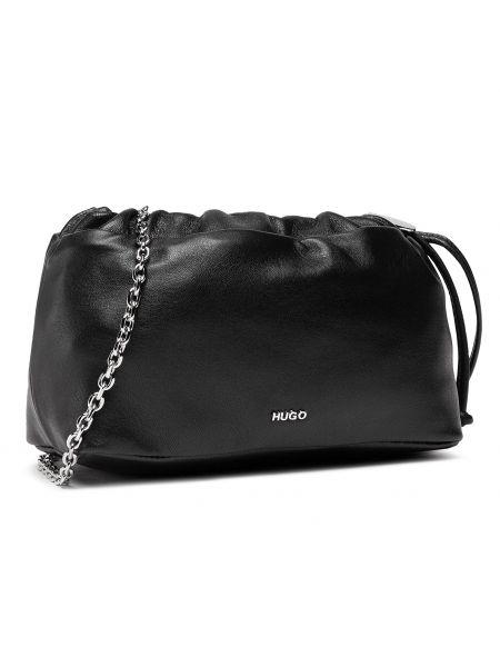 Czarna torebka crossbody Hugo