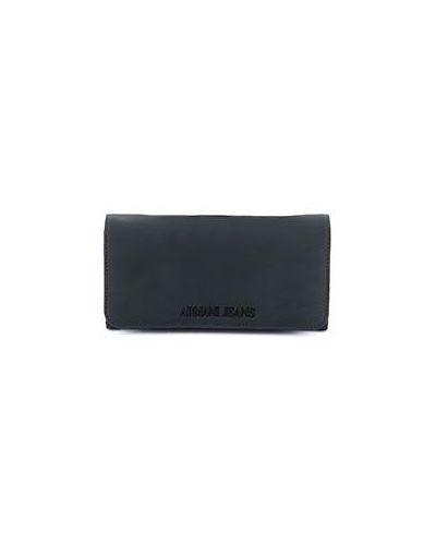 Черный кошелек Armani Jeans