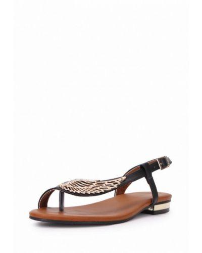 Черные сандалии T.taccardi